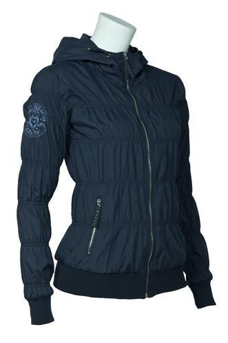 Dámská jarní bunda O´STYLE s kapucí - oblečení textil