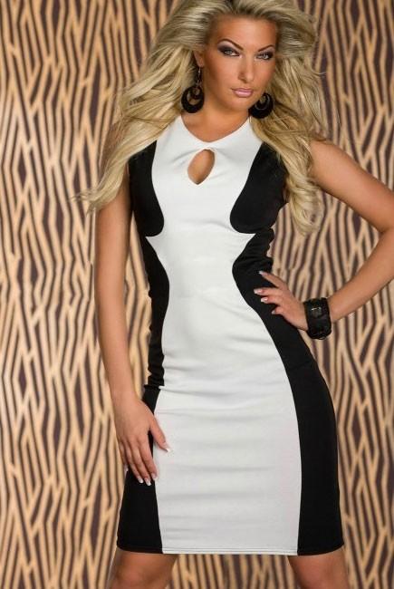 9b7505854334 Dámské šaty SLIM Damson d-sat083 - oblečení textil