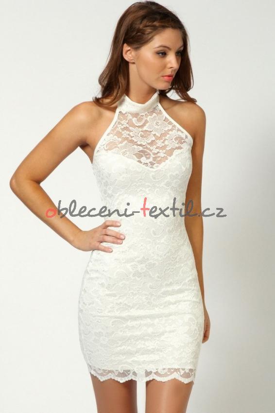 ff55e56c1b26 Dámské krajkové šaty Damson d-sat053wh - oblečení textil