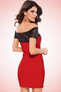 Dámské šaty s krajkou Damson d-sat048re