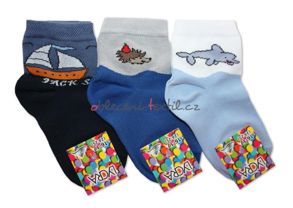 Chlapecké ponožky Novia s motivem zvířátek - 3 páry v balení ... f335d6ec8d