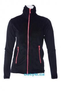 Dámská fleece mikina O´Style 6302 černá