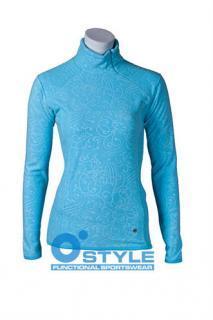 Dámská mikina O STYLE 6185 - modrá