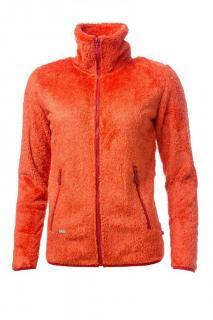 Dámská polar fleece mikina O´Style 6442 oranžová