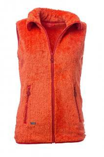 Dámská polar fleece vesta se stojáčkem O´Style 6443 oranžová