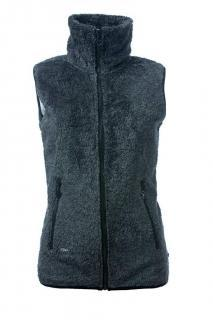 Dámská polar fleece vesta se stojáčkem O´Style 6443 tmavě šedá