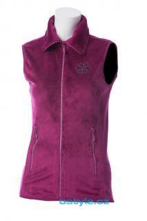 Dámská vesta se stojáčkem O´Style 6304 fialová