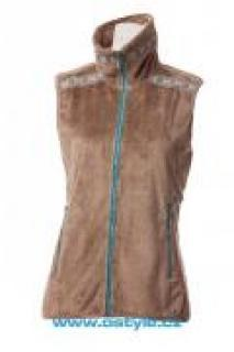 Dámská vesta se stojáčkem O´Style 6307 zlatá
