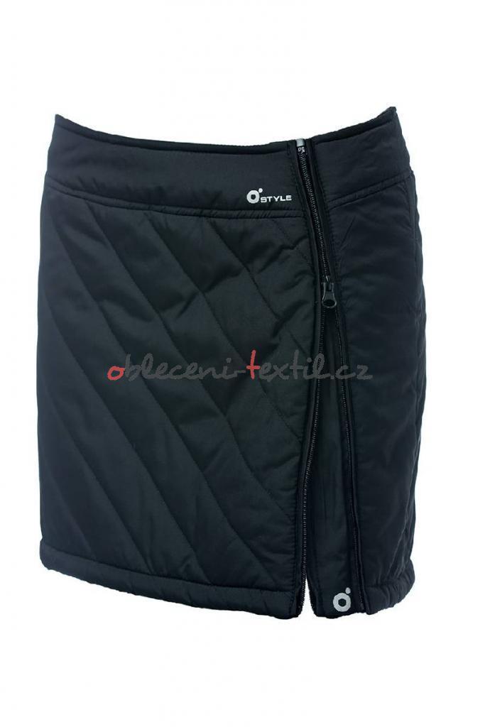110b1f4146e3 Dámská zateplená sukně O´Style 6440 černá - oblečení textil
