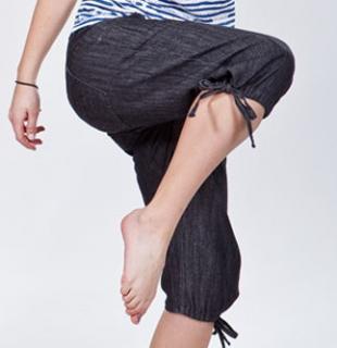 Dámské 3/4 kalhoty O´STYLE 6231 jeans