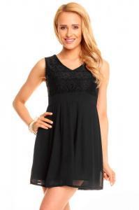 Dámské černé šaty Mayaadi hs-sa355bl