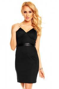 Dámské černé šaty Best Emilie hs-sa412bl
