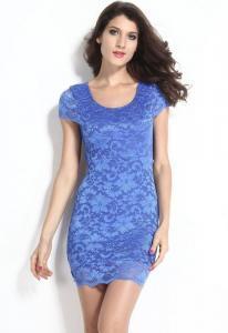 Dámské krajkové mini šaty Damson d-sat432mo