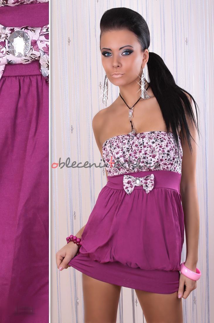 Dámské letní minišaty-tunika Fashion h. k314bo - oblečení textil e3be586a6f