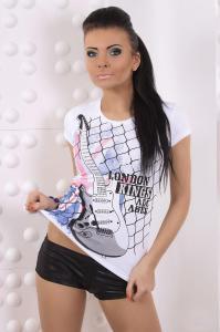 Dámské moderní tričko Fashion h. k240wh