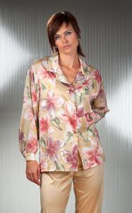 Dámské saténové pyžamo Malaga