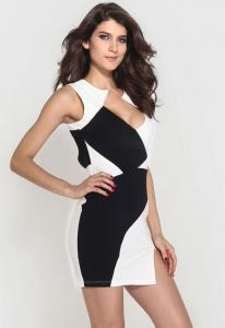 Dámské šaty Black & White Damson d-sat422