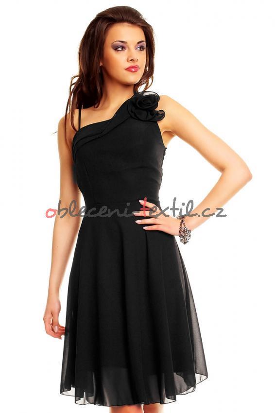 787c9a28e37 Dámské šaty krátké Queen o.f. hs-sa262bl - oblečení textil