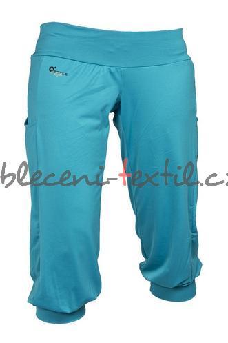 36d607dbeb62 Dámské sportovní 3 4 kalhoty O´STYLE tyrkysová - oblečení textil