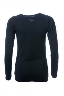 Dámské tričko s dlouhým rukávem O´Style 6452 černé