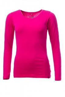 Dámské tričko s dlouhým rukávem O´Style 6452 růžové