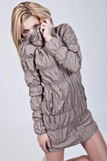 Dámský zimní kabátek Queen o.f. st-bu06 - oblečení textil
