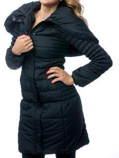 Dámský zateplený kabát O´Style 6437 černý