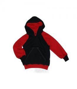Dětská klokanka s kapucí Farmers IMP černá/červená