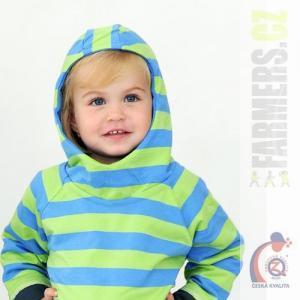 Dětská oboustranná mikina EARTH Farmers s kapucí
