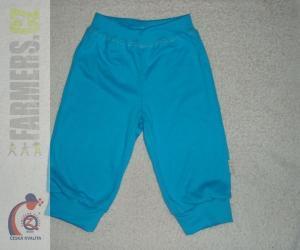 Dětské 3/4 kalhoty do manžety SUNNY Farmers tyrkysové