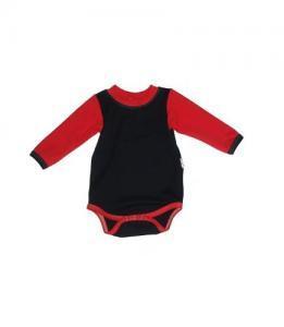 Dětské body Farmers IMP černé/červené BA/EL