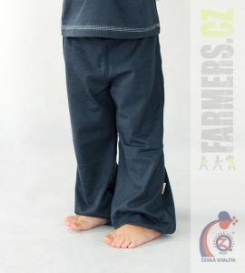 Dětské kalhoty do paspule Farmers EARTH šedé