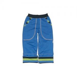 Dětské ohrnovací kalhoty Farmers EARTH modré trio