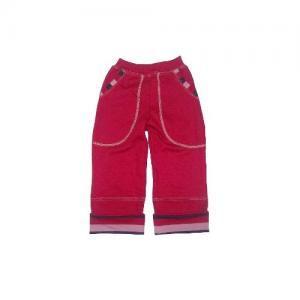 Dětské rostoucí kalhoty LOLLA Farmers červené berry