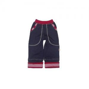 Dětské rostoucí kalhoty LOLLA Farmers fialové malin