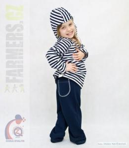 Dětské tepláky se zadní kapsou Farmers NAVY