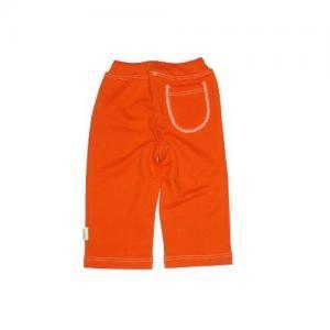 Dětské tepláky se zadní kapsou SUNNY Farmers oranž