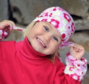 Dětský šátek Pirát Farmers FLOWERS