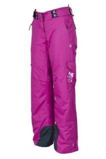 Dívčí lyžařské zateplené kalhoty O´STYLE růžové