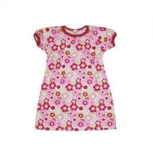 Dívčí šaty kr. rukáv Farmers FLOWERS