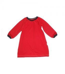 Dívčí šaty s dlouhým rukávem Farmers IMP červené
