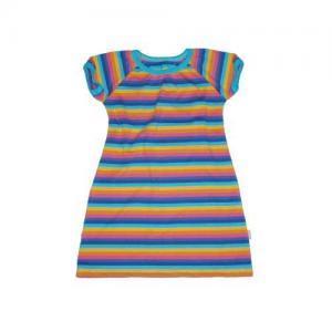 Dívčí šaty s krátkým rukávem Farmers RAINBOW