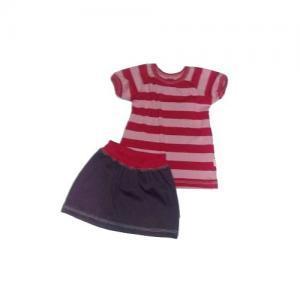 Dívčí souprava Farmers LOLLA tunika a sukně