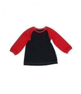 Dívčí tunika dl. rukáv Farmers IMP černá/červená