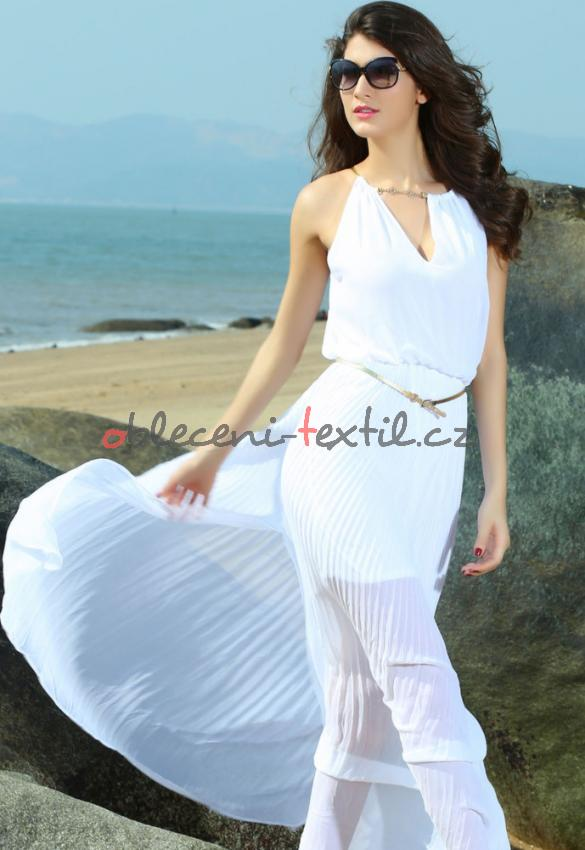 edcf32b0ca4d Dámské plážové šaty Damson d-sat167wh - oblečení textil