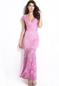 Dámské krajkové šaty Damson d-sat361pi