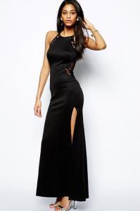 Dámské šaty černé Damson d-sat242