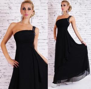 Dámské šaty černé EU st-sa143bl