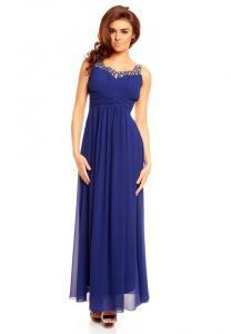 Dámské šaty modré EU hs-sa433mo
