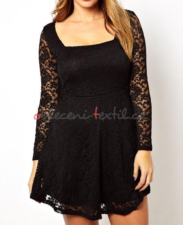 Dámské šaty pro plnoštíhlé Damson d-sat455 - oblečení textil cc75ee5413